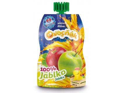 100% jablečný mošt 200ml
