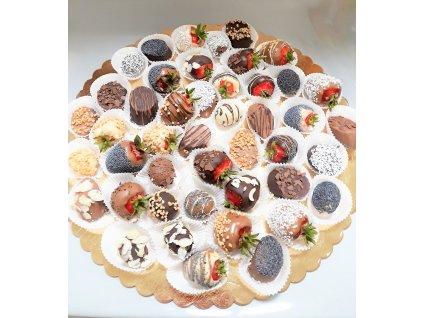 ovocie v cokolade