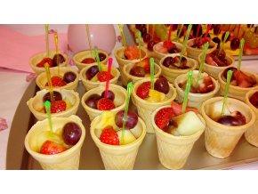 Ovocné kornútky