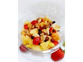 Ovocný šalát s medom a orieškami