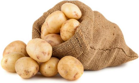 Polorané brambory