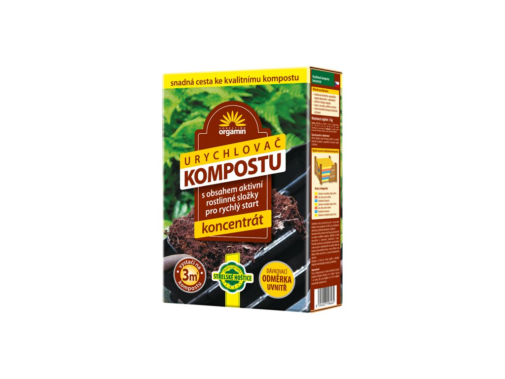 Urychlovač kompostu 1kg (koncentrát)