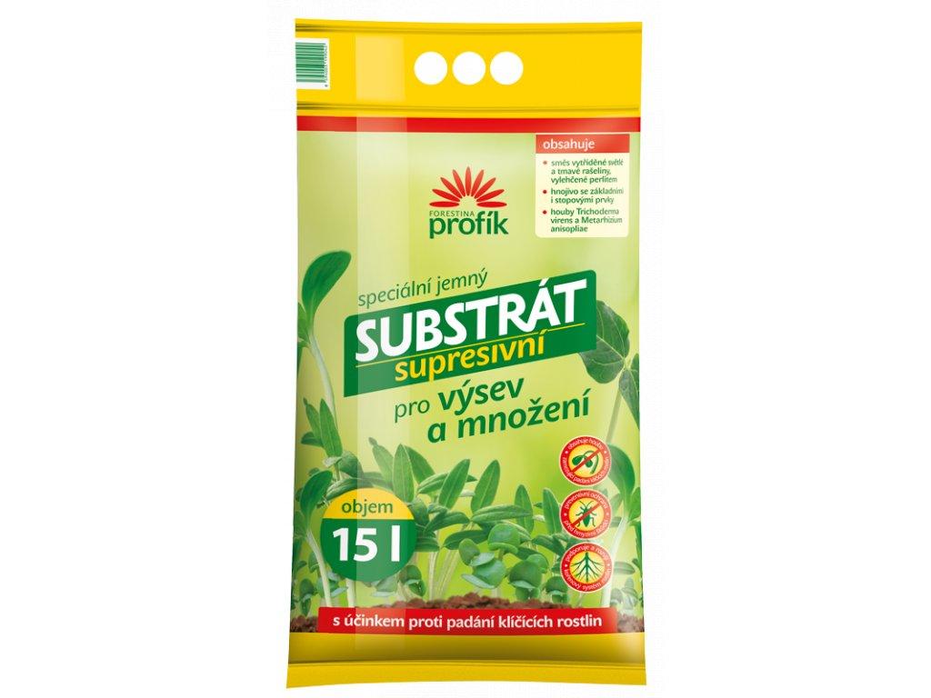 substrat supresivni vysevni 15l