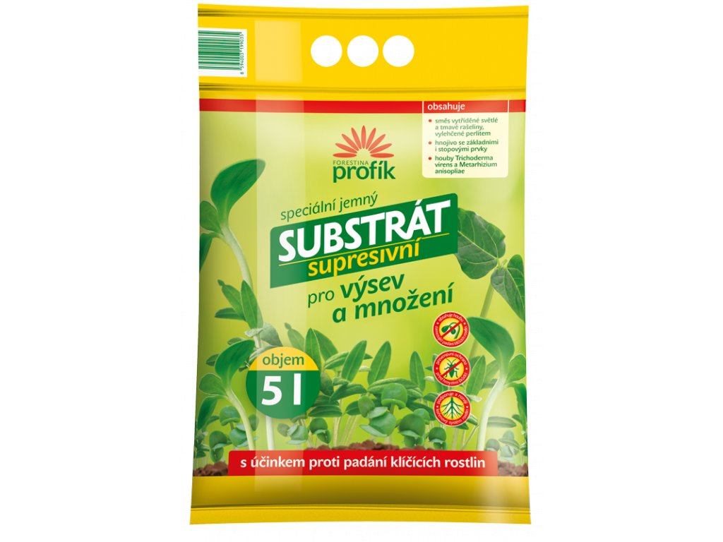 substrat supresivni vysevni 5l