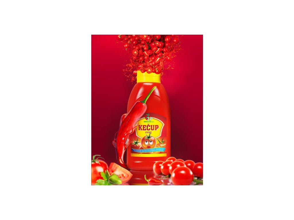 Kečup ostrý 900g