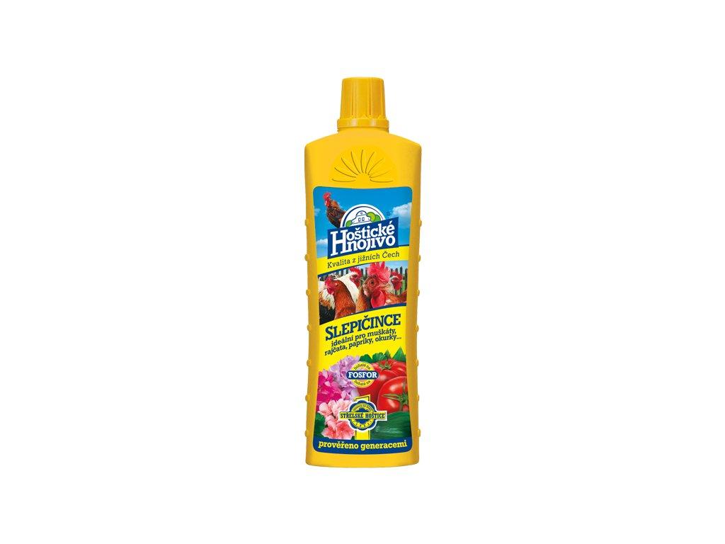 Hoštické hnojivo Slepičince tekuté 0,5l