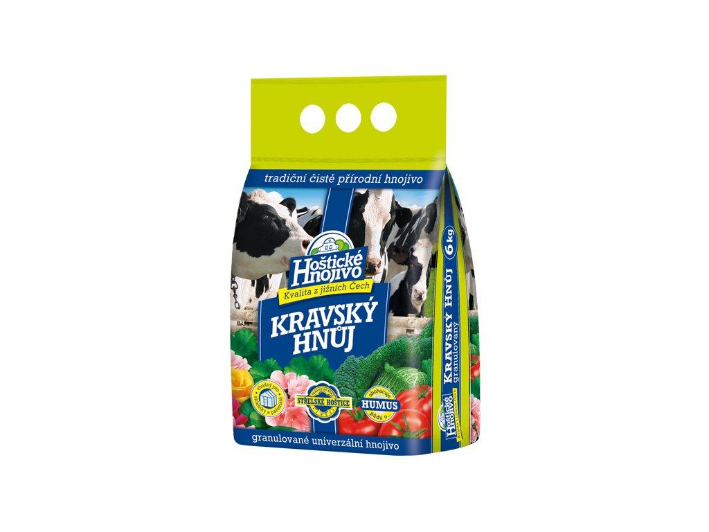 Hoštické hnojivo Kravský hnůj 3kg