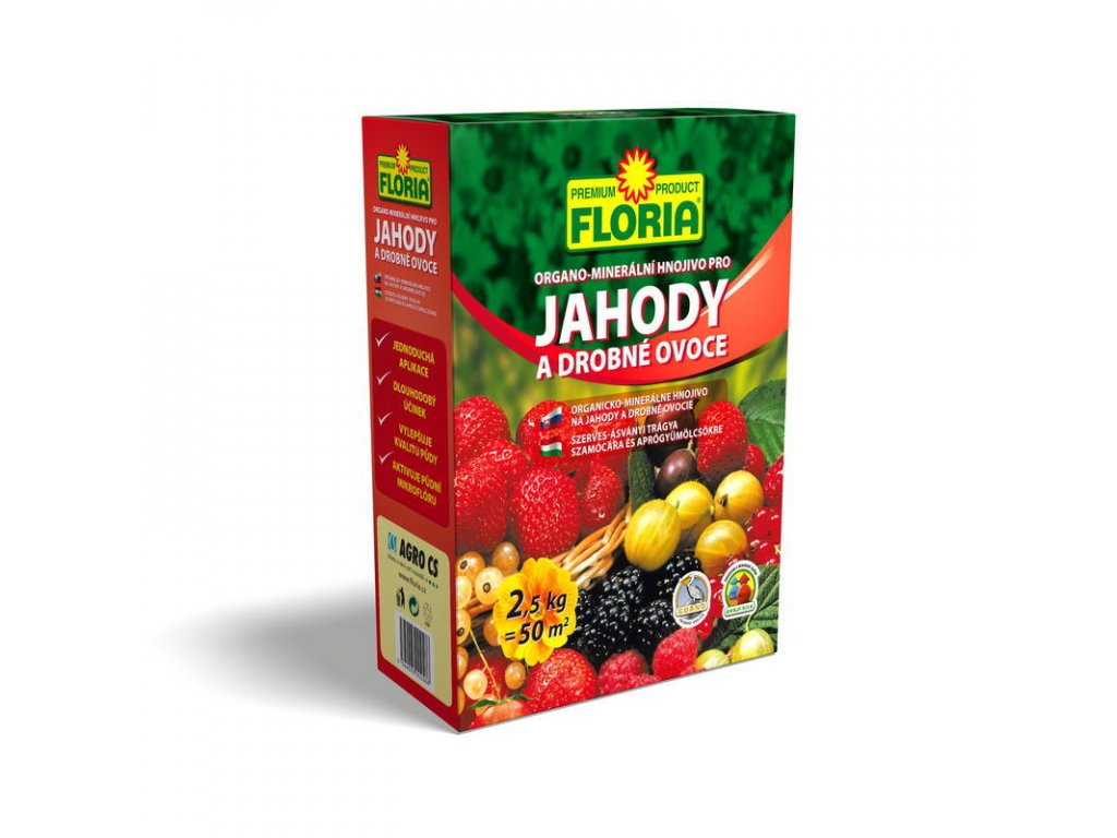 Agro Floria OM pro jahody a ovoce 2,5 kg