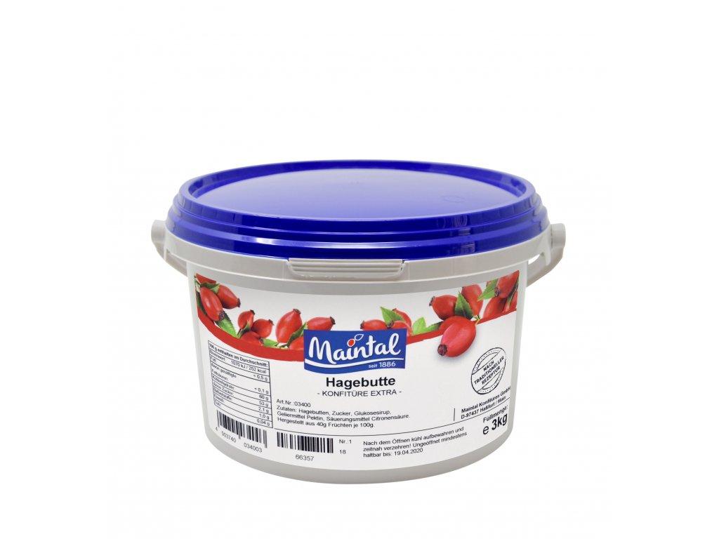 Šípkový džem - kbelík 3 kg