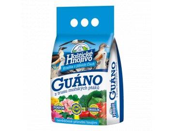 Hoštické guáno - granulované 2,5kg