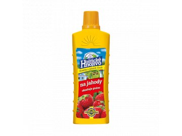 Hoštické hnojivo na jahody s guánem 0,5l