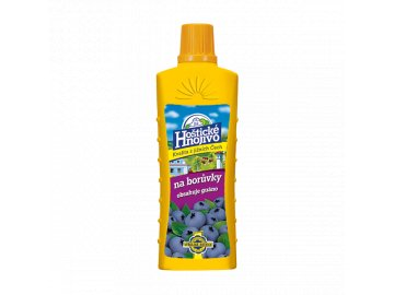 Hoštické hnojivo na borůvky s guánem 0,5l
