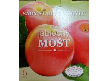 Jablečný mošt 5l Starý lískovec