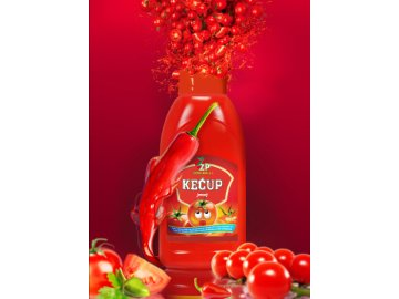 Kečup jemný 900g