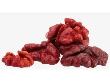 Vlašské ořechy červená jádra