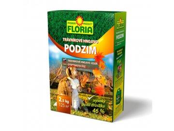 FLORIA Podzimní trávníkové hnojivo 2,5 kg