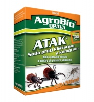 ATAK - Sada proti klíšťatům a komárům 100+100 ml