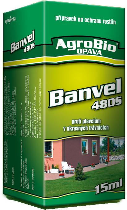 AgroBio Opava, s.r.o. BANVEL 480 S 15ml