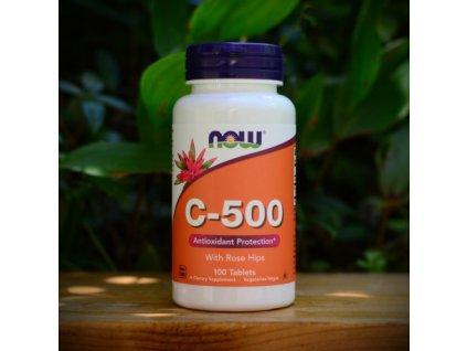 now vitamin c 500 100
