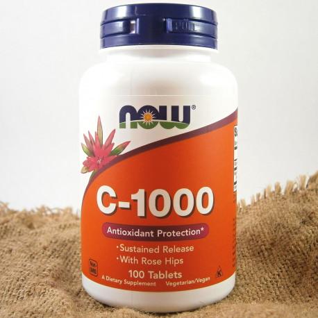 NOW Vitamin C-1000 s postupným uvolňováním 100 tablet