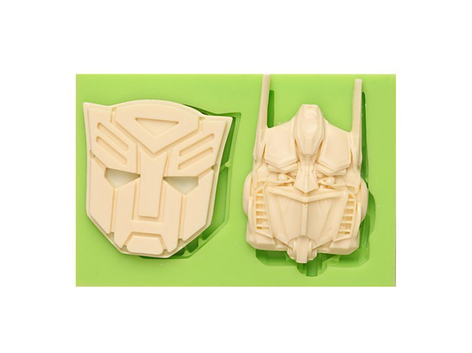 7ES 0816 Transformers Fondant Moulds Silicone Molds for cake decorating