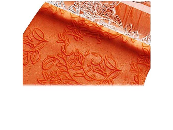 Akrylový strukturovací váleček vzor květinový košík