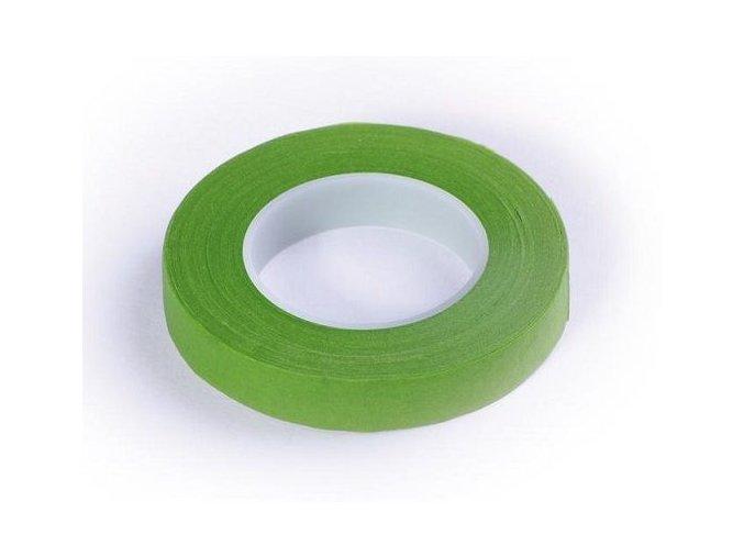 floristicka paska svetle zelena