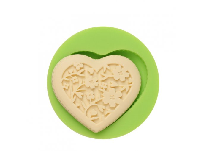 ES 1511 Love heart Silicone Molds for Fondant Cake Decorating