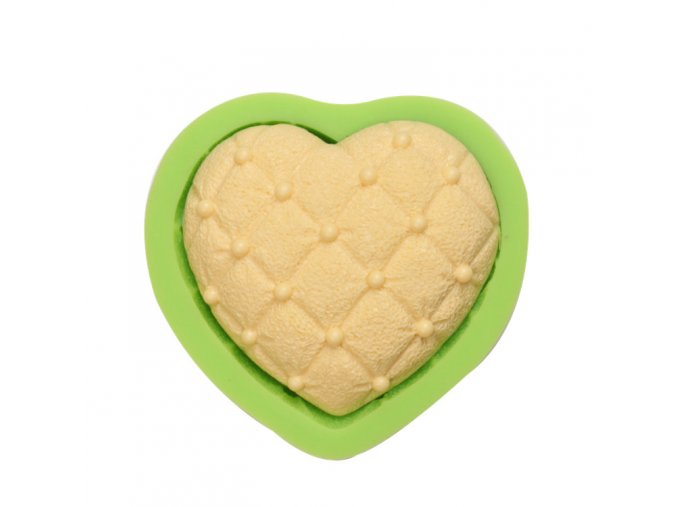 ES 1517 Love heart Silicone Molds for Fondant Cake Decorating