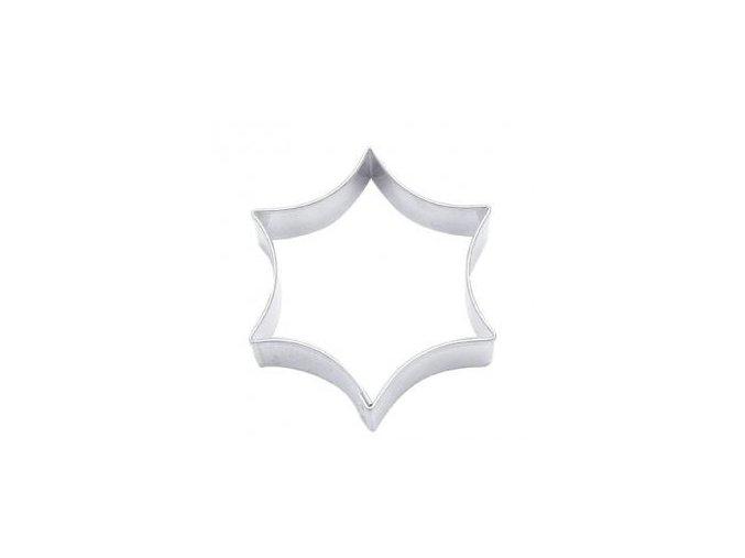 Vykrajovátko tvar oblá hvězda