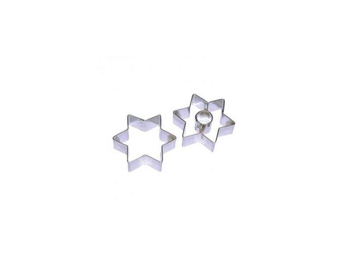 Vykrajovátko tvar hvězda se středem