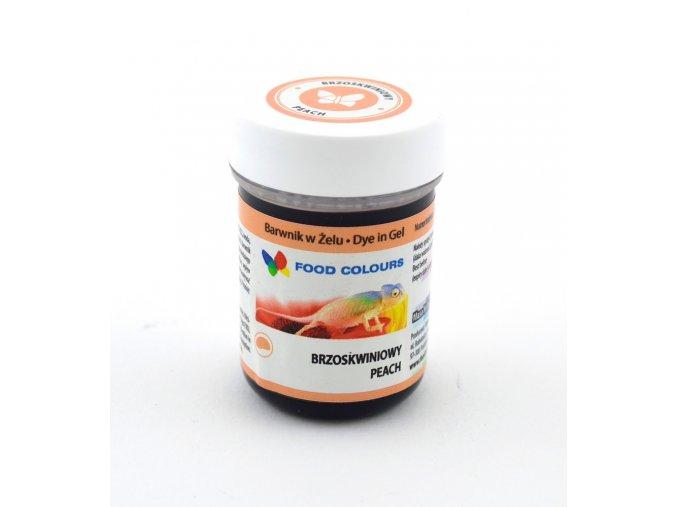 Gelová barva Food Colours Peach