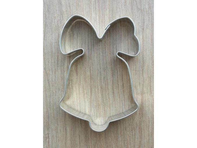 Vykrajovátko tvar zvoneček s mašlí
