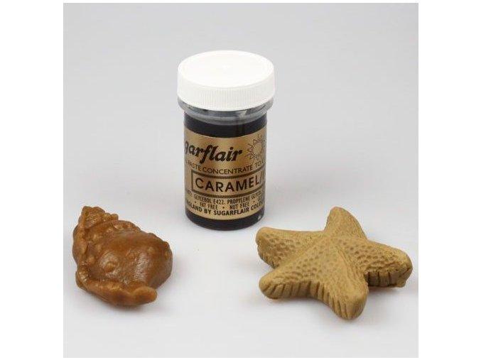 gelova barva sugarflair 25 g caramel ivory
