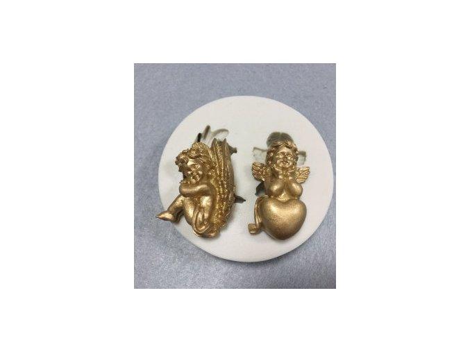 Silikonová formička dva andílci