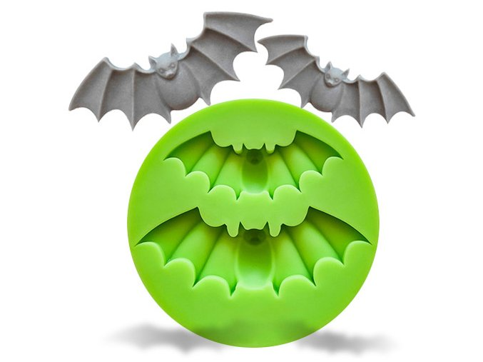 Silikonová formička netopýři