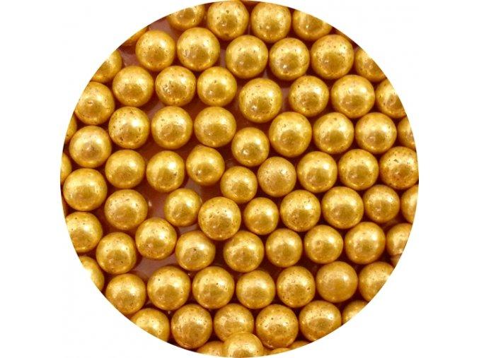 cukrove perly zlate velke 50 g