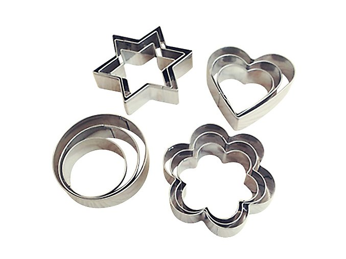 stainless steel cookie cutter set 1 1