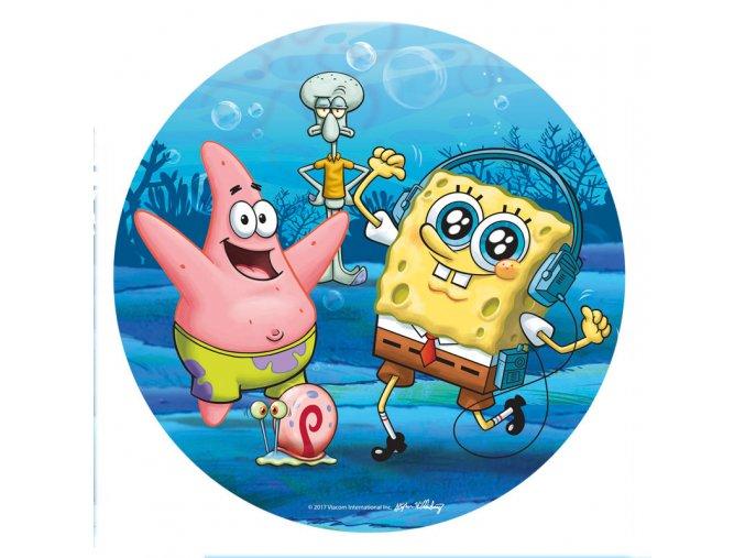 Jedlý papír Sponge Bob - 20cm
