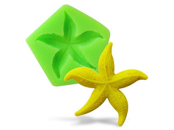 Silikonová formička mořská hvězdice