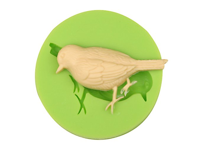 7ES 0101 Bird Silicone Molds Fondant Mould for cake decorating