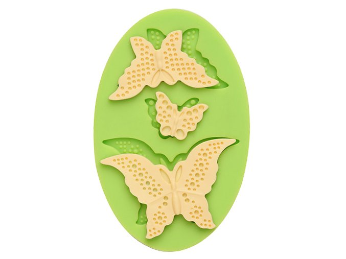 7ES 0203 Butterflies Silicone Molds Fondant Mould for cake decorating