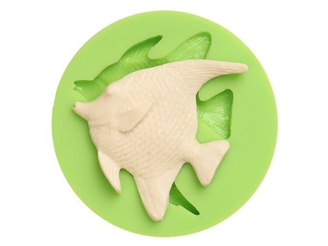 7ES 0406 Animal Mould Abyssal Fish Fondant Silicone Molds for cake decorating