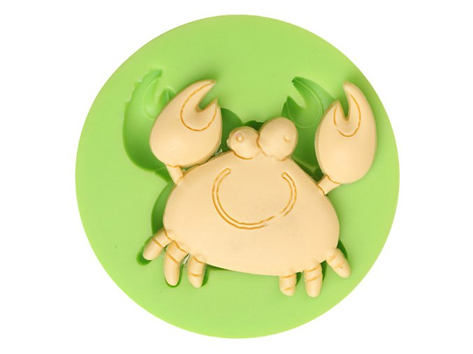 7ES 0409 Crab Shaped Silicone Molds Fondant Mould for cake decorating