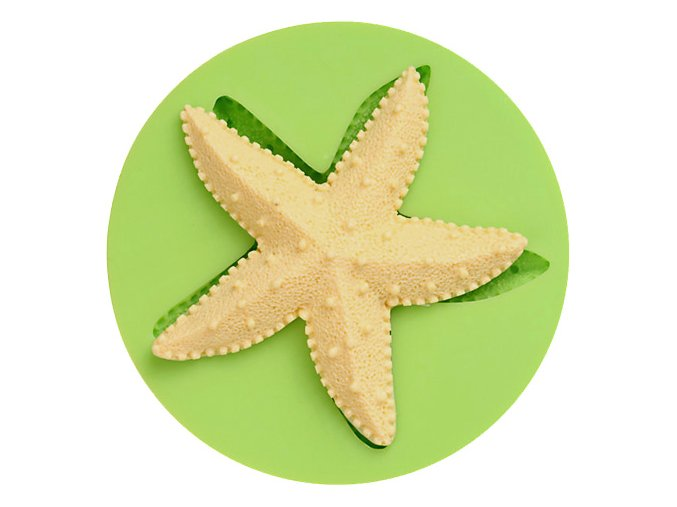 7ES 0504 Animal Mould Starfish Fondant Silicone Molds for cake decorating