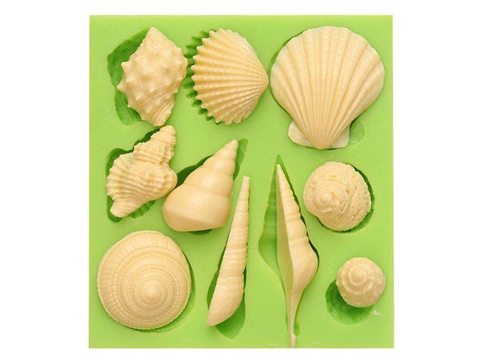 7ES 0514 Animal Mould Romantic Seashell Fondant Silicone Molds for cake decorating