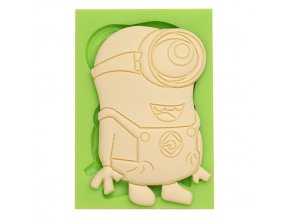 7ES 0849 Lovely Minions Silicone Molds Fondant Moulds for cake decorating