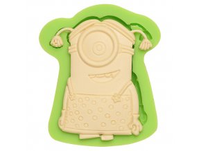 7ES 0850 Lovely Minions Silicone Molds Fondant Moulds for cake decorating
