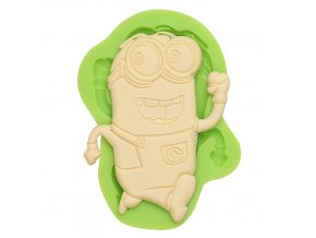 7ES 0851 Running Minions Silicone Molds Fondant Moulds for cake decorating