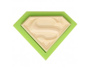 7ES 0811 Superman S Fondant Silicone Molds for cake decorating